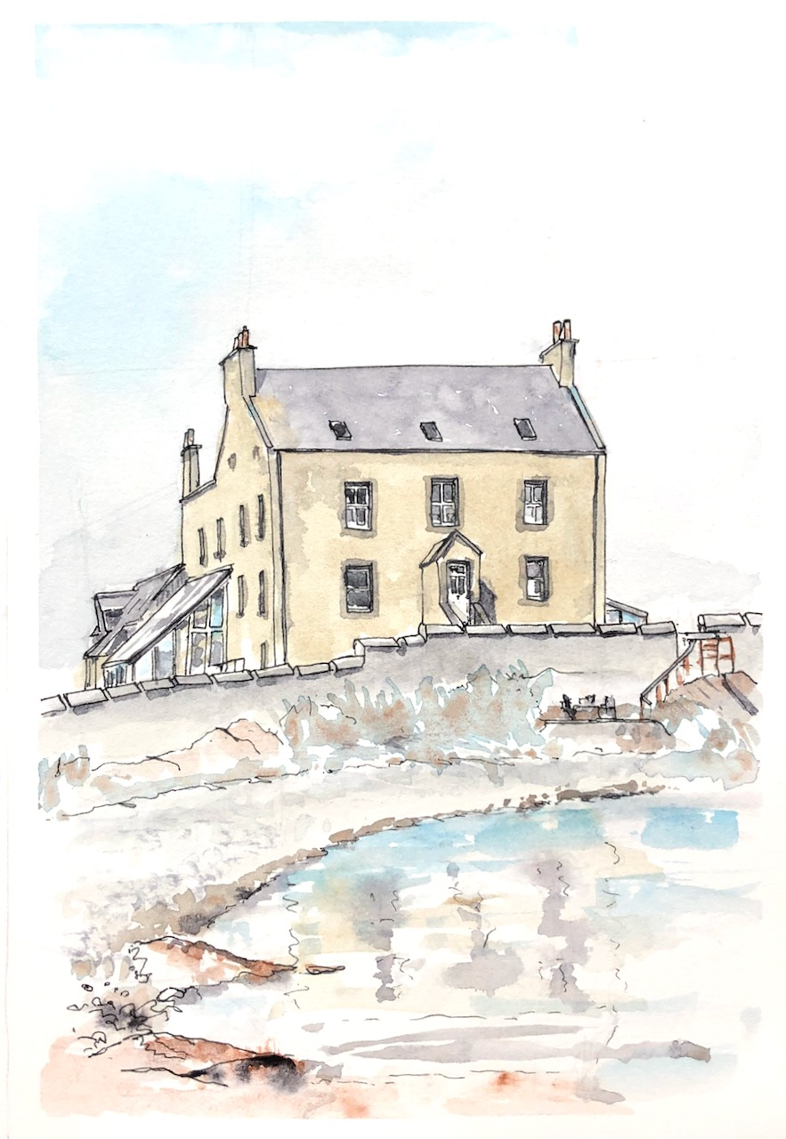Shetland: Burrastow House