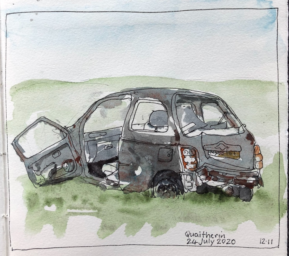 Shetland:  vehicles inspace
