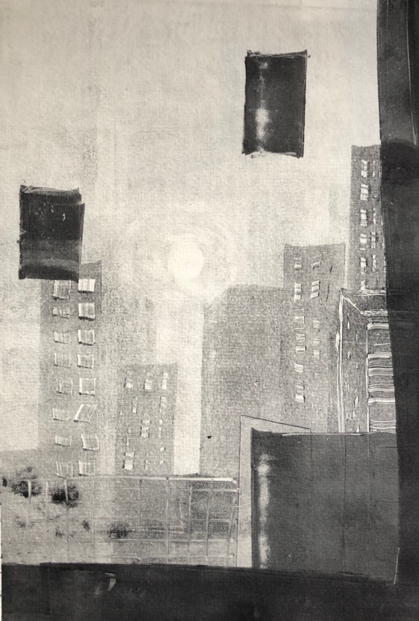 Monoprints, the City (2)