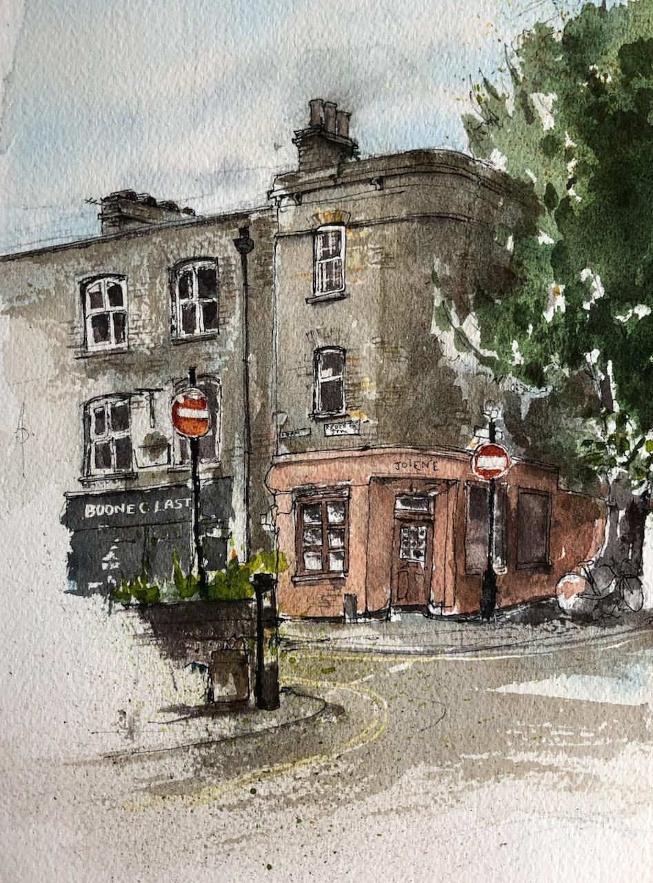 """67 Redchurch Street E2, """"Jolene"""" bakery"""